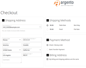 Integration with Firecheckout.