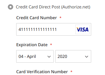 Slightly improved credit card form styles