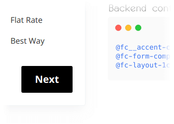 Ability to change styles from backend panel using LESS variables