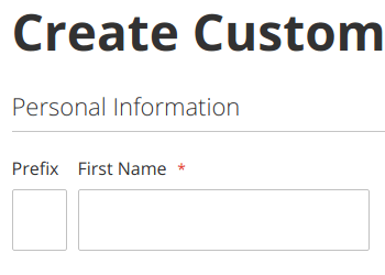 Consents on customer registration page